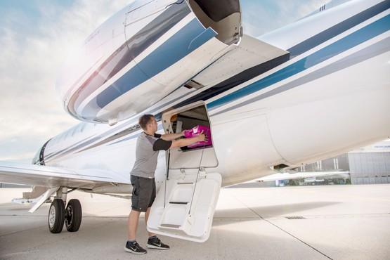 Flüge für zeitkritische Transporte