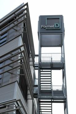 Der Firmensitz von Formel D
