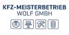 Das Logo von KFZ MEISTERBETRIEB WOLF GMBH